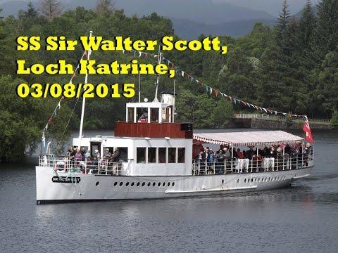 SS Sir Walter Scott, Loch Katrine, 03/08/2015