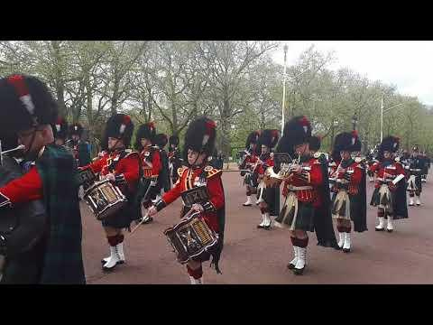 Band Of The Royal Regiment Of Scotland & 5 Scots On The Mall