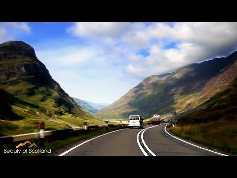 Driving Through Glencoe / Beauty Of Scotland