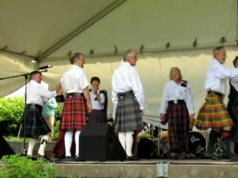 Royal Scottish Country Dance Society At Niagara Folk Arts Festival 2012