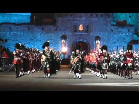 Massed Pipes And Drums, Royal Edinburgh Military Tattoo 2012