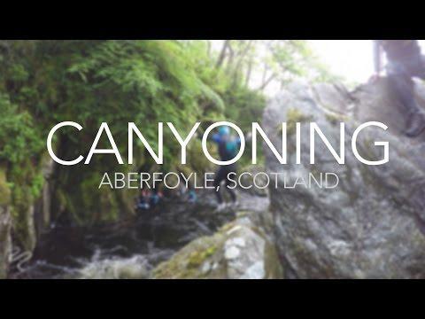 Canyoning 2015 (Aberfoyle, Scotland)