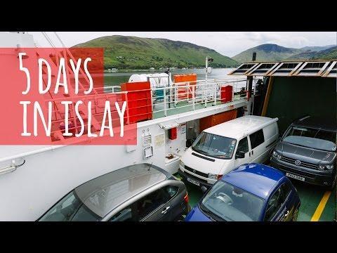 Van Life Vlog - 5 Days On Islay