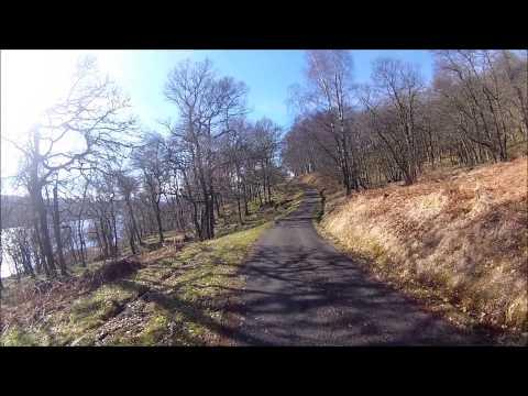 Cycling Loch Katrine