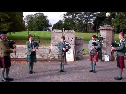 Mairi's Wedding Bagpipes Scone Palace Perth Perthshire Scotland
