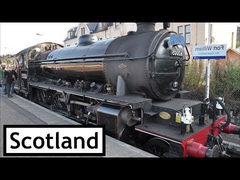 Jacobite Steam Train - Fort William To Mallaig And Return