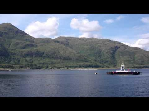 Corran Ferry To Ardgour Loch Linnhe Scottish Highlands Scotland August 2nd