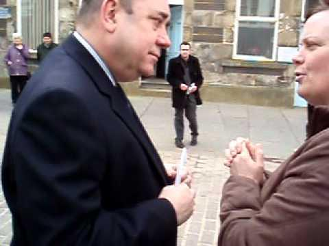 SNP Leaders Visit To Wick Caithness 007.mov