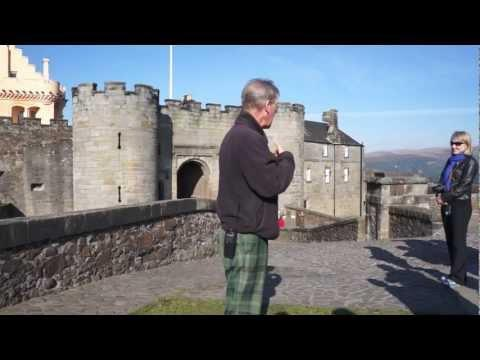 Stirling Castle Part Of Tour [Scottish Accent]