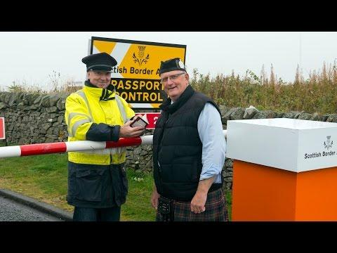 Pranksters Set Up Fake Scottish Border Checkpoint
