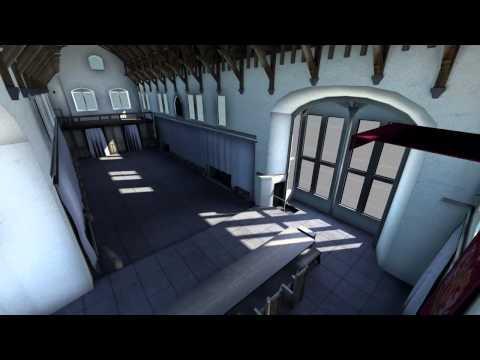 Stirling Castle - Great Hall Flythrough