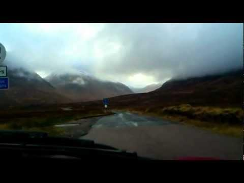 Scotland - UK Trip - London To Glencoe - Glen Etive James Bond - Ballachulish - Loch Ness - HD - HQ