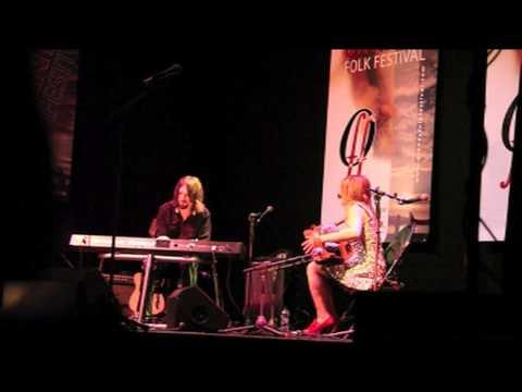 Sharon Shannon And Alan Connor At The Orkney Folk Festival