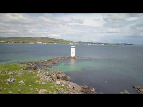 Islay Scotland By Drone