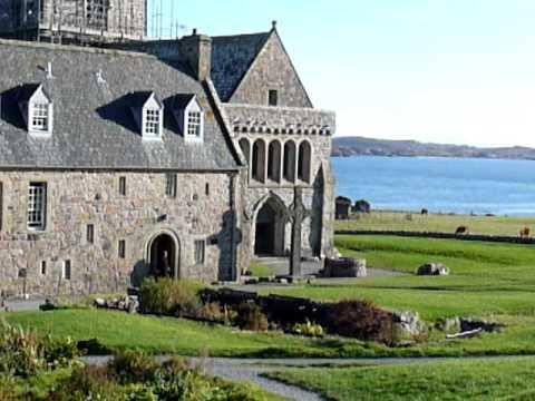 Iona And Abbey, Scotland