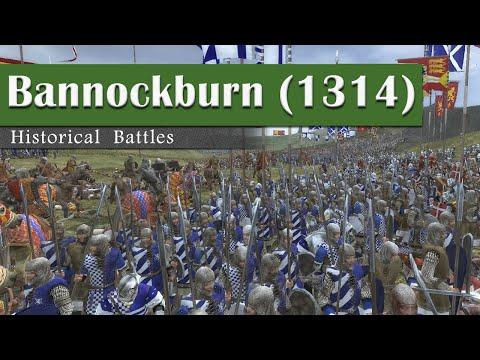Battle Of Bannockburn (1314) - Historical Battles