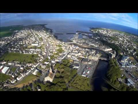 Wick, Caithness, Scotland, From Riverside June 2015