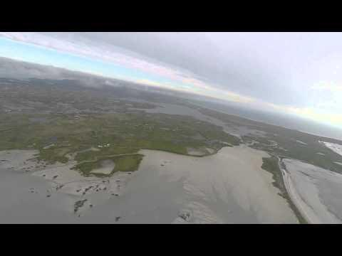 Bixler 3 GoPro First Flight Benbecula