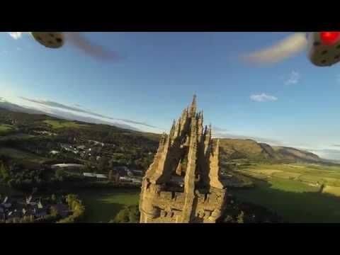 Stirling William Wallace Monument 4k