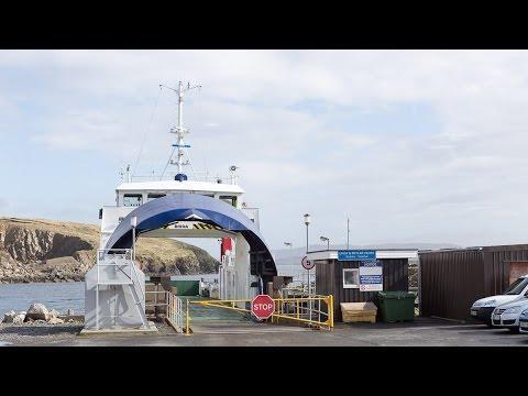 Yell - Transferinsel Nach Unst Im Norden Der Shetlands