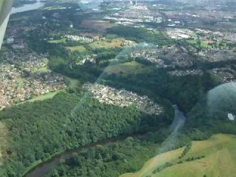Bothwell Castle From The Air