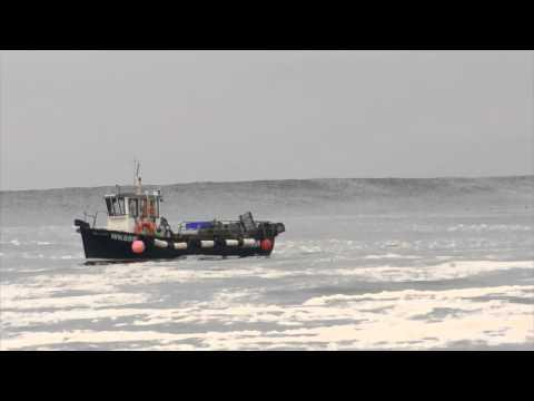 Thurso East - Midges Bloom And A SH Swell 14/08/15