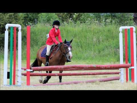 Haillie-Jade Allison At Moniaive Horse Show, July 26, 2015
