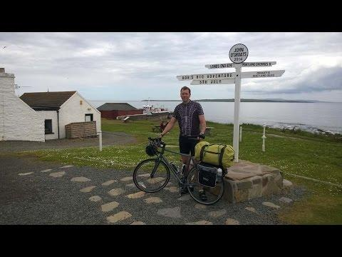 John O'Groats To Landsend Cycle Ride July 2014 Rob Barbour