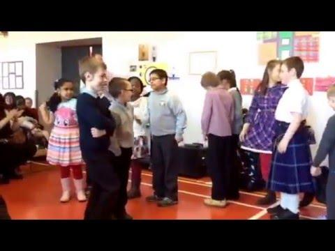 P4- The Gay Gordon's - Scottish Dance - HanoverStreet School - 2016