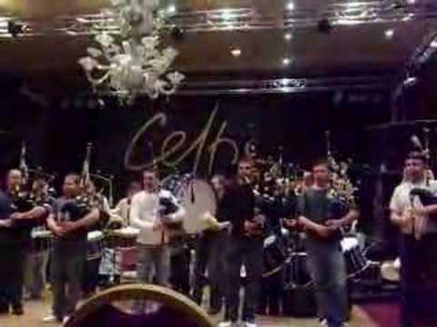 Bagad Kemper & Clan Gregor - Rehearsals