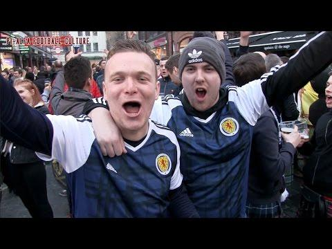Tartan Army On Tour Part 1 (England - Scotland)