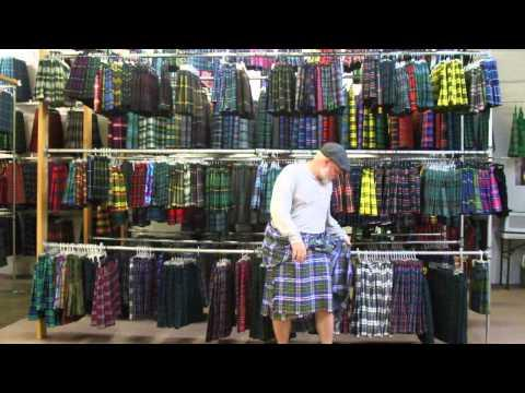 How To Fold A Great Kilt