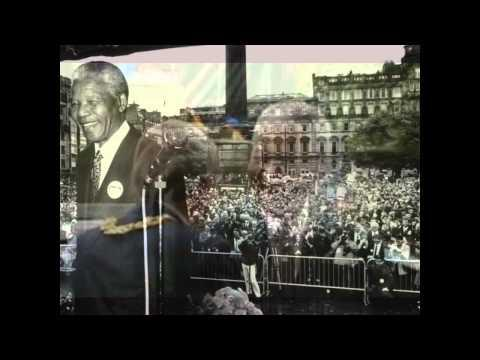 Blair Douglas: 'Nelson Mandela's Welcome To The City Of Glasgow'