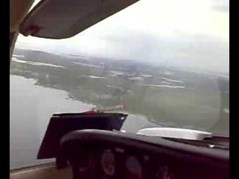 Piper PA38 Tomahawk Landing In Benbecula