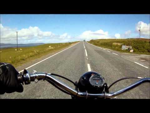 Triumph Mountain Cubs &  Triumph 6T On Yell,Shetland