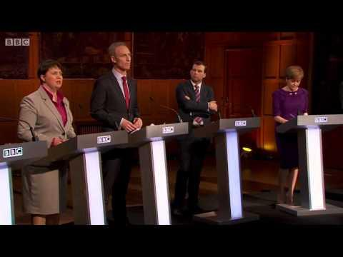 BBC 2015 General Election Debate - Scotland April 8