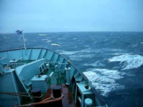 Calmac Tarbert To Uig - Rough Seas