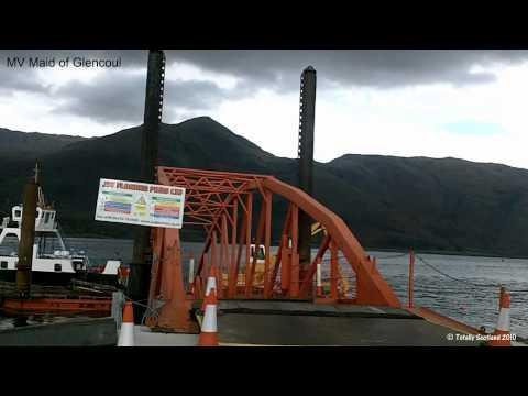 Corran Ferry- Temporary Floating Pier