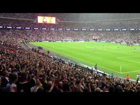 Scotland V England: The Tartan ARMY At Wembley
