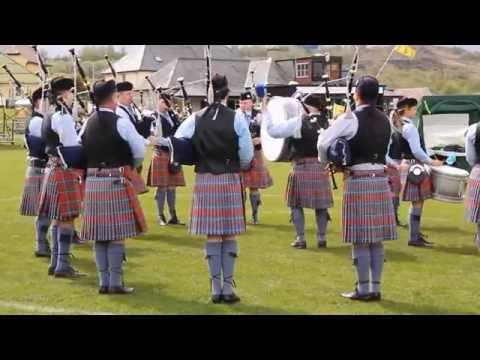 Gourock 2015 - Bothwell Castle Pipe Band