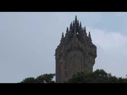 Wallace Monument Abbey Craig Near Stirling Scotland
