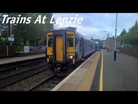Trains At Lenzie (29.8.15)