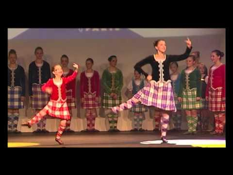Scottish Highland Dance At Disneyland Paris 2011