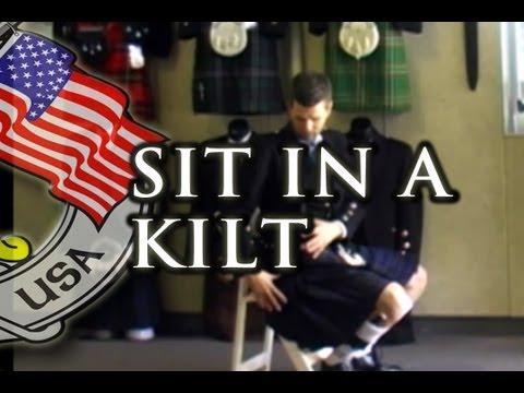 How To Sit In A Kilt - Kilt Rental USA
