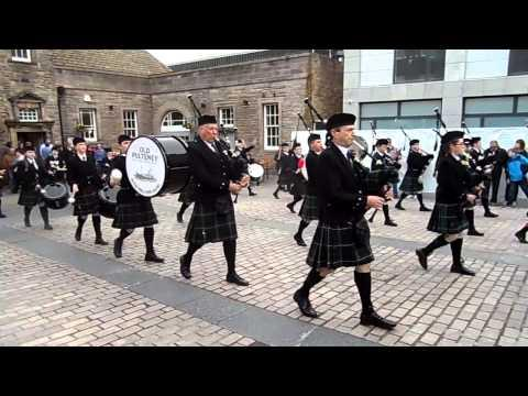 Massed Pipe Bands At Wick, Caithness