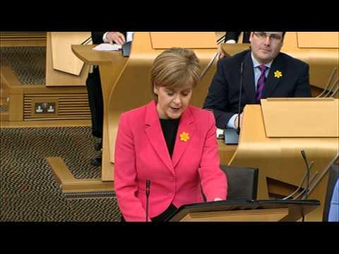 First Minister's Questions - Scottish Parliament: 5th March 2015