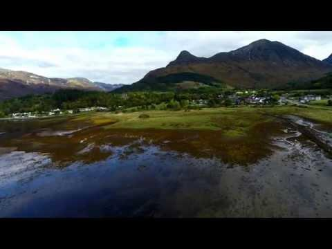 DJI Phantom 2 Over Glencoe And Ballachulish