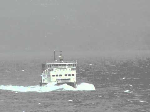 Calmac Bute Ferry MV Argyle Approaching Craigmore 3.