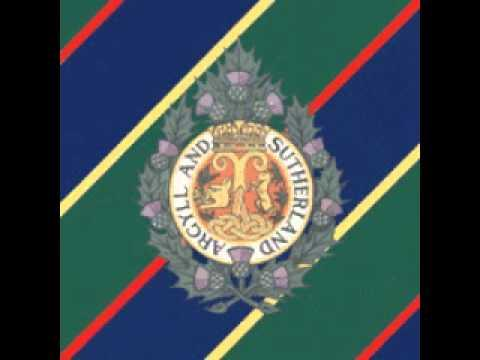 Argyll And Sutherland Highlanders Quick March.wmv