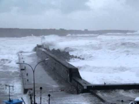 Big Storm Hits Wick Bay